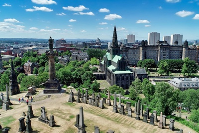 Glasgow et Chateau de Stirling